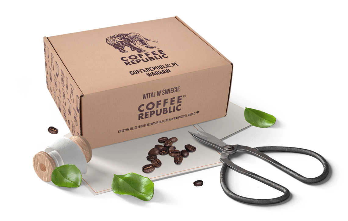 pudełka na kawę