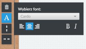 Zmiana fontu