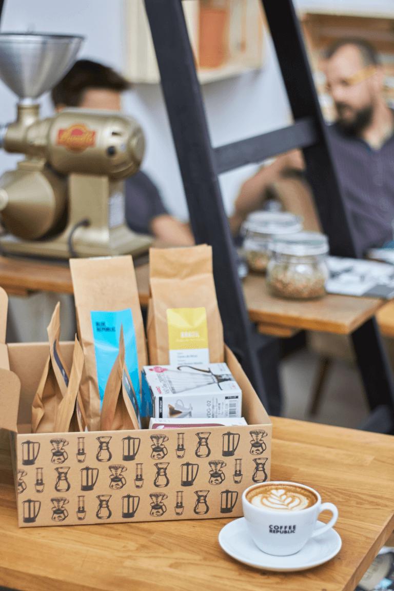coffee republic box