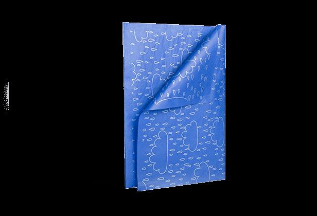 papier bibułkowy z nadrukiem